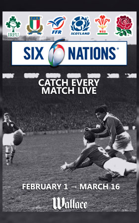six nations rugby lyon bar pub wallace